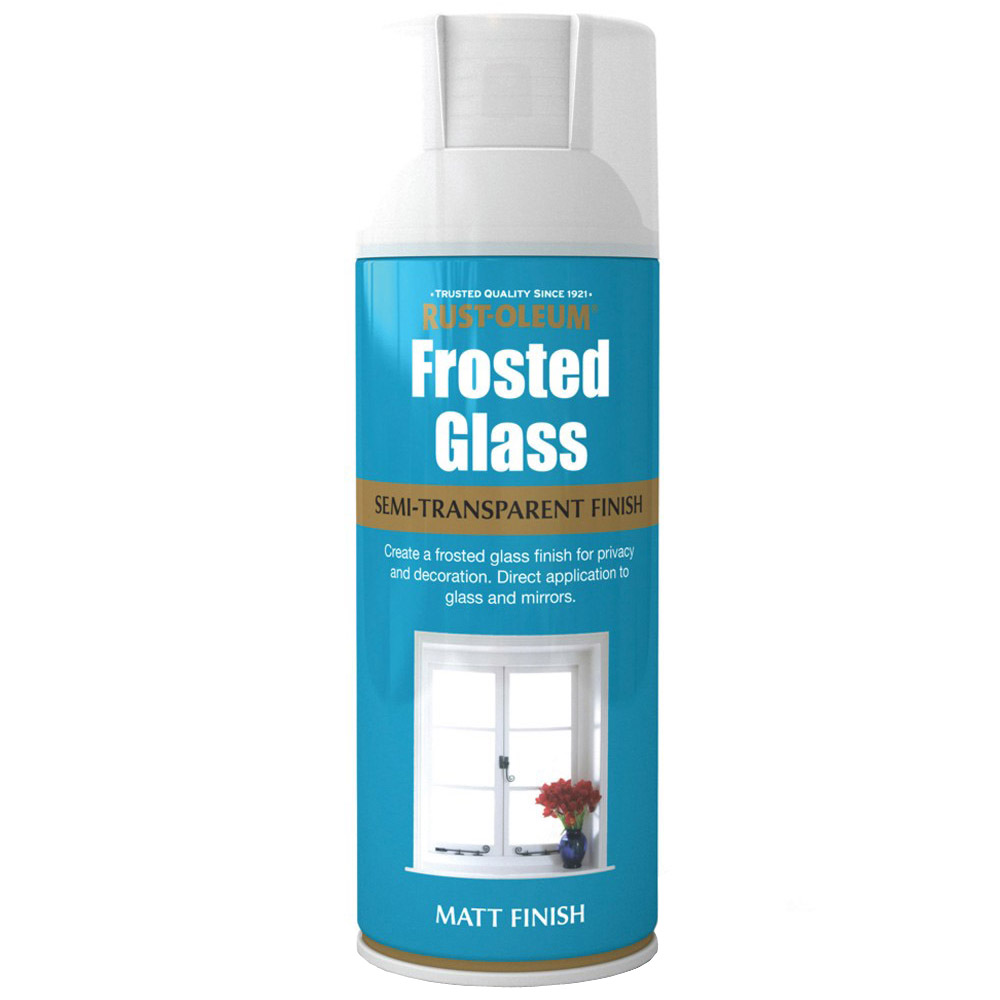 oleum frosted window glass effect spray paint 400ml frosting pivacy. Black Bedroom Furniture Sets. Home Design Ideas