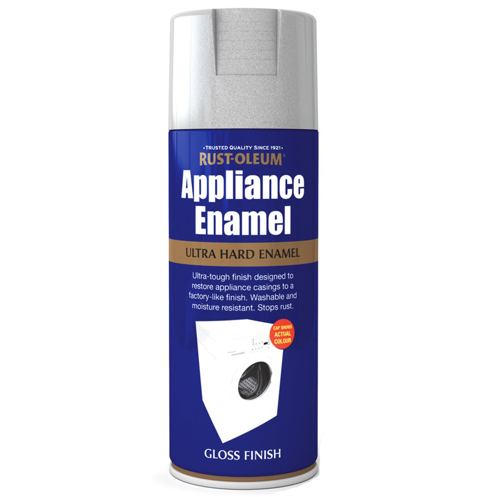 Details about Rust-Oleum Appliance Enamel Stainless Steel Gloss Spray ...