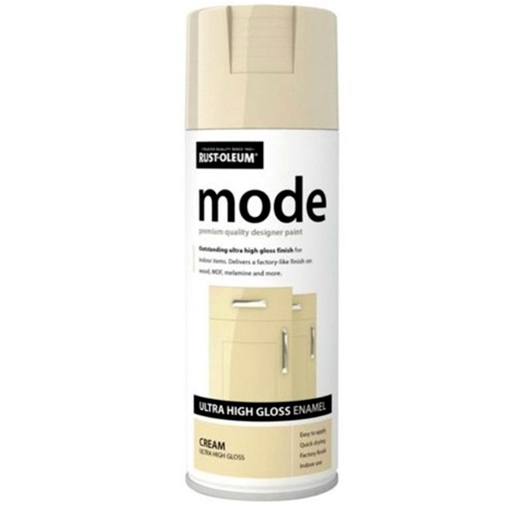 Rust Oleum Mode Designer Fast Dry Spray Paint Cream Gloss