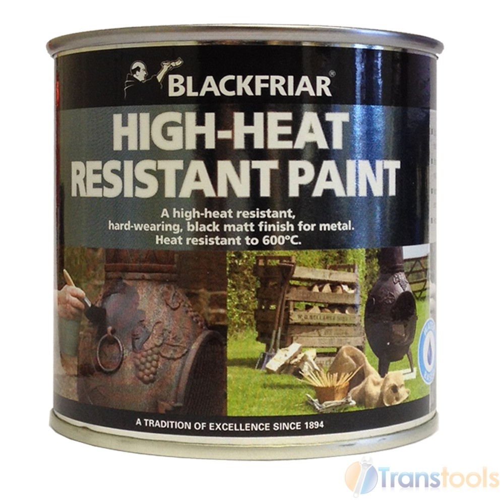 Blackfriar High Heat Resistant Black Matt Finish Paint