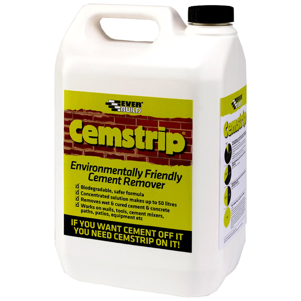 Everbuild cemstrip cement remover eco friendly concentrate for Concrete cleaner oil remover