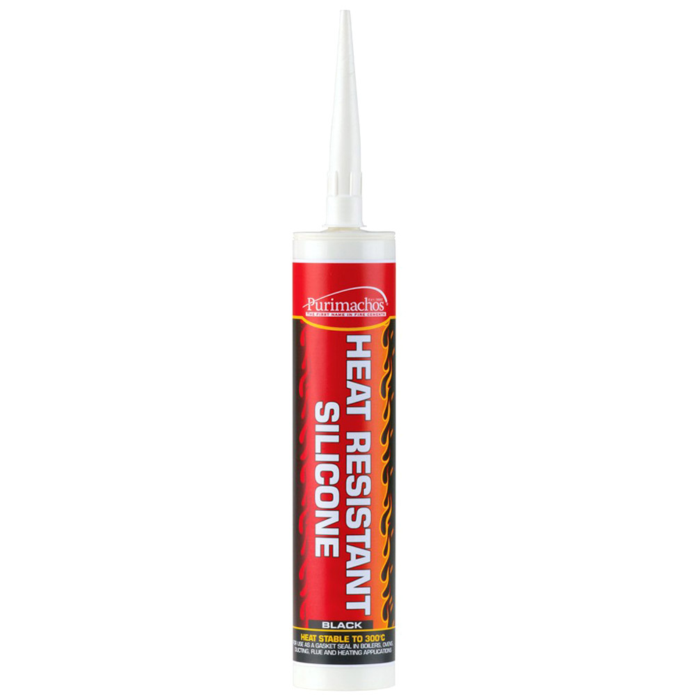 High Heat Caulking : Everbuild black high temperature heat resistant silicone
