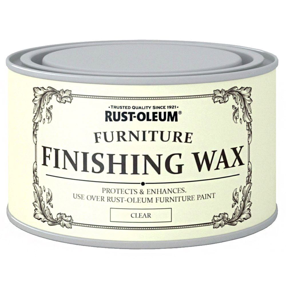 Rust oleum chalky finish wood furniture paint smooth matt for Furniture wax
