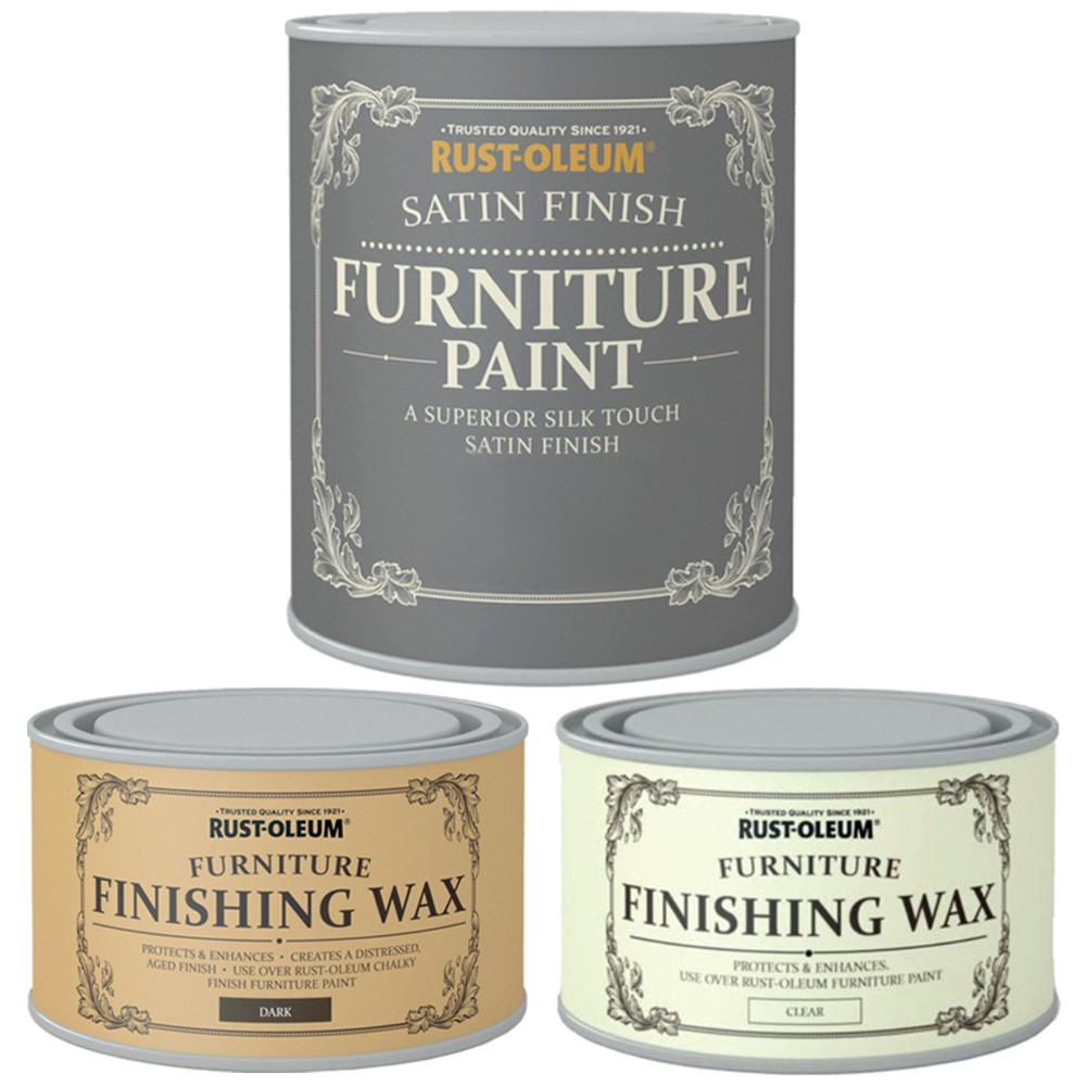 Rust Oleum Wood Furniture Paint Superior Silk Touch Satin