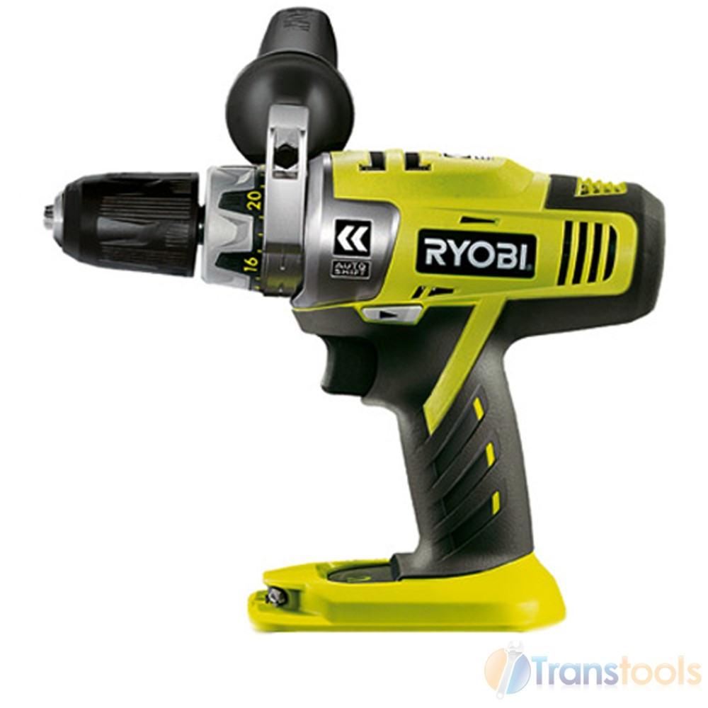 ryobi cda1802m 18v autoshift 2 speed drill driver one plus naked tool only ebay. Black Bedroom Furniture Sets. Home Design Ideas