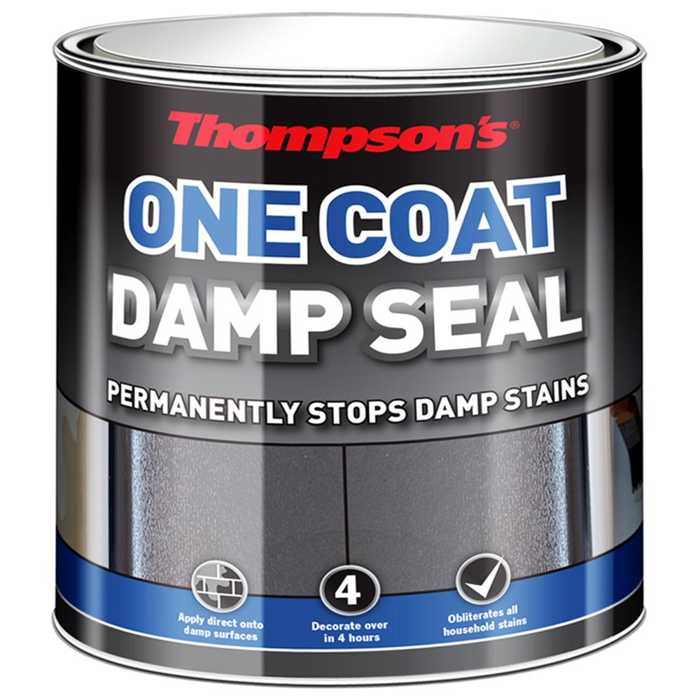 details about thompsons 34577 one coat damp seal 250ml. Black Bedroom Furniture Sets. Home Design Ideas