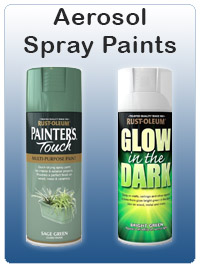 Aerosol Spray Paints