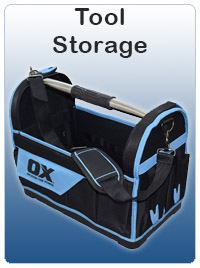 Tool Storage including bages, totes and tool boxes
