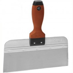 Marshalltown Taping Knife Stainless Steel Durasoft Handle 10in - 250mm