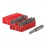 Silverline Screwdriver Bit Set - 33 Piece