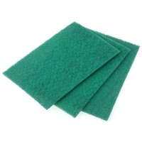 Faithfull Nylon Abrasive Pad 230mm x 150mm Grade 0 - 10 Pack