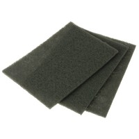 Faithfull Nylon Abrasive Pad 230mm x 150mm Grade 000 - 10 Pack
