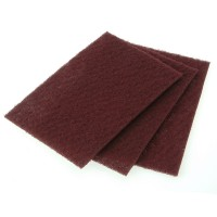 Faithfull Nylon Abrasive Pad 230mm x 150mm Grade 00 - 10 Pack