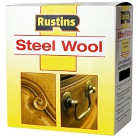 Rustins Steel Wire Wool Roll Fine Grade 0 - 150g