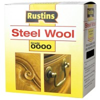 Rustins Steel Wire Wool Roll Ultra Fine Grade 0000 - 150g