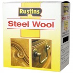 Rustins Steel Wire Wool Roll Medium Grade 1 - 150g