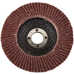 Silverline Abrasive Grinding and Finishing Flap Disc