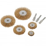Silverline Wire Wheel and Cup Brush Set - 5 Piece