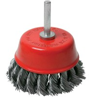 Silverline Rotary Twist Knot Cup Brush 75mm
