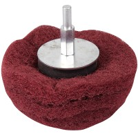 Silverline Dome Sanding Mop Wheel 100mm x 240 Grit