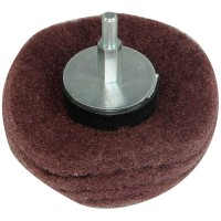 Silverline Dome Sanding Mop Wheel 75mm x 240 Grit