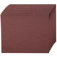 Silverline Emery Cloth Sheet 120 Grit - 10 Pack