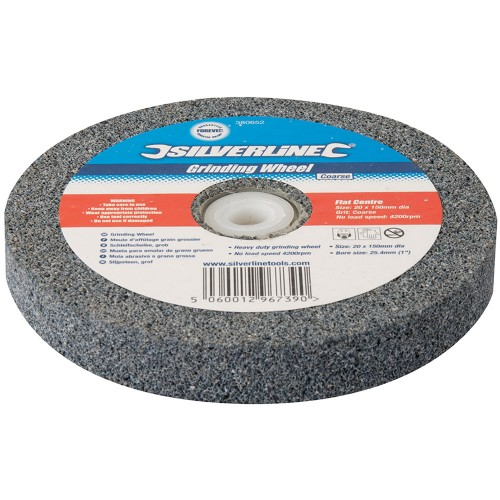 Silverline Bench Grinding Wheel Course 150mm X 20mm