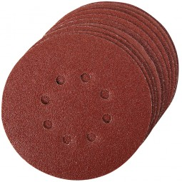 Silverline 125mm Punched Sanding Discs
