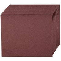 Silverline Emery Cloth Sheet 60 Grit - 10 Pack