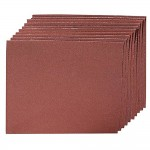 Silverline Emery Cloth Sheet 180 Grit - 10 Pack