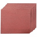 Silverline Emery Cloth Sheet 80 Grit - 10 Pack