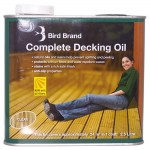 Bird Brand Slip Resistant Decking Oil Clear 2.5 Litres