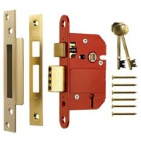 Era Fortress 21/2in British Standard Sash Lock - Brass