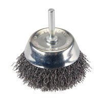 Silverline Rotary Wire Cup Brush 75mm