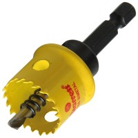 Starrett Smooth Cutting Holesaw With Arbor 22mm