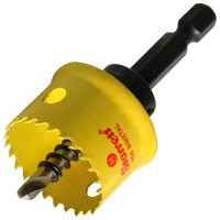 Starrett Smooth Cutting Holesaw With Arbor 27mm