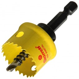 Starrett Smooth Cutting Holesaw With Arbor