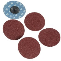 Silverline Twist Button 75mm Sanding Discs 60 Grit - 5 Pack