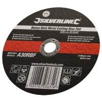 Silverline Metal Cutting Discs 230mm x 3mm x 22.2mm