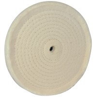 Silverline Spiral Stitched Buffing and Polishing Wheel - 150mm