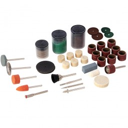 Silverline Hobby Tools Accessory Kit - 105 Piece