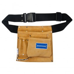 Silverline Leather Nail and Tool Pouch and Belt 5 Pockets