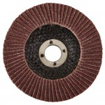 Silverline Abrasive Grinding and Finishing Flap Disc 115mm 80 Grit