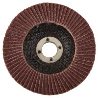 Silverline Abrasive Grinding and Finishing Flap Disc 115mm 60 Grit