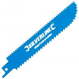 Silverline Plunge Reciprocating Saw Blade 100mm / 4in