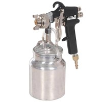 Silverline High Pressure Air Spray Gun 1 Litre
