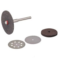 Silverline Cutting Disc Kit - 4 Piece