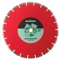 Silverline Granite Diamond Cutting Blade Disc 300mm x 20mm