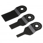 Silverline Multi Function Tool Saw Blade Set - 3 Piece