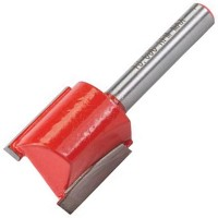 Silverline 1/4in Straight Metric TCT Router Cutter 20mm x 20mm